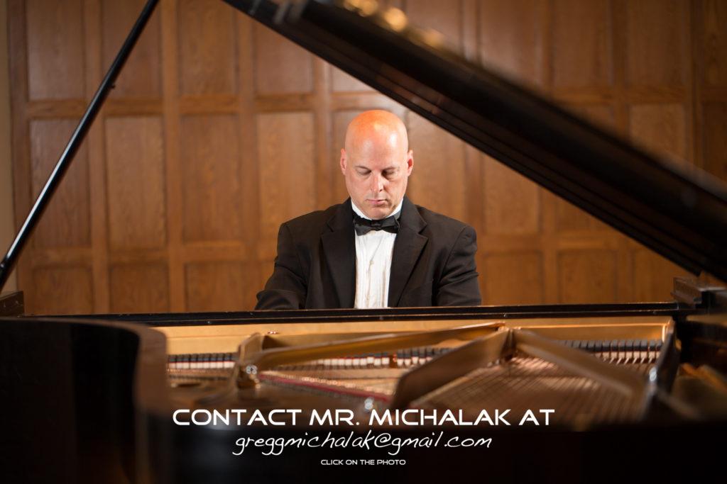 Gregg Michalak, Pianist