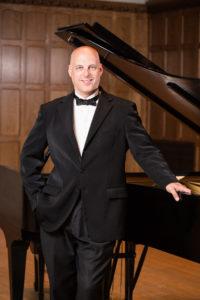 Pianist Gregg Michalak